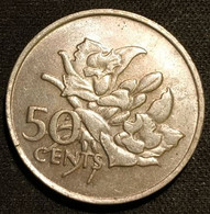SEYCHELLES - 50 CENTS 1977 - KM 34 - Seychelles