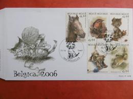 BELGICA 2006. COB 3319-3323. F.D.C.-P1476. 15-10-2004, 2800 MECHELEN - Lettres & Documents
