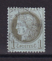 D220 / CERES N° 50 OBL COTE 20€ - 1871-1875 Cérès