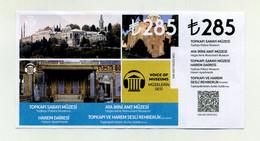 Palais De Topkapi Y Compris Harem. Istanbul 2021. Turquie Turkey Türkiye Türkei. Avec Talon, état 2nd, Lire Description - Eintrittskarten