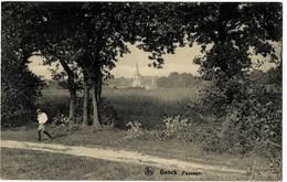 Genck Paysage Circulée En 1924 - Genk