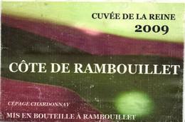 SELECTION -- ETIQUETTE DE VIN  --  CUVEE DE LA REINE 2009  COTE DE RAMBOUILLET - Altri