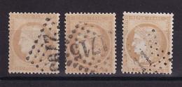 D220 / LOT CERES N° 59 OBL COTE 24€ - 1871-1875 Cérès