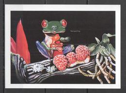 BB610 SIERRA LEONE MUSHROOMS NATURE FLORA & FAUNA REPTILES FROGS 1BL MNH - Pilze