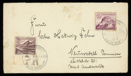 TREASURE HUNT [00041] Germany 1940 Cover From Frankfurt (Oder) Bearing 15+10 Pf And 40+35 Pf, Stamp Day Special Postmark - Lettres & Documents