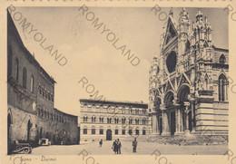CARTOLINA  SIENA,TOSCANA,DUOMO,BELLA ITALIA,STORIA,MEMORIA,CULTURA,RELIGIONE,IMPERO ROMANO,VIAGGIATA 1955 - Siena