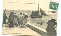 85* SABLES D OLONNE  Tempete - Sardiniers - Sables D'Olonne