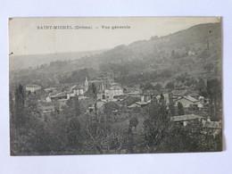 SAINT MICHEL (26/Drôme) - Vue Du Village , Maisons Et Eglise - Other Municipalities