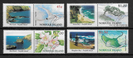 NORFOLK ISLAND * 2002 * Complete Set 4 Stamps + Labels * CTO - MNH** Flora & Fauna - Mi.No 776-779 - Norfolk Island