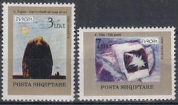 EUROPA ALBANIE Yv 2299/300 MNH Neufs** - - 1993