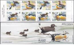 Aland - 2001 - Nuovo/new MNH - Birds - Booklet - Mi N. 183/86 MH 9 - Aland