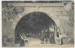 D 13. SALON DE PROVENCE.  LES ALLEES DE CRAPONNE L ARCEAU. AN 1912 - Salon De Provence