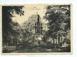 Dour Parc Et Monument ( Carte Ayant Voyagé ) - Dour