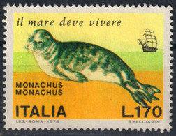 Monk Seal / Monachus / SAILING SHIP  - 1978 Italy / USED - Altri