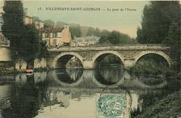 94* VILLENEUVE ST GEORGES    Le Pont De L Yerres   RL14.0952 - Villeneuve Saint Georges