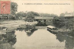 94* VILLENEUVE ST GEORGES    Pont De Chemin De Fer – Yerres    RL14.1003 - Villeneuve Saint Georges