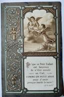 Image Religieuse - Décès Enfant - 1886 - Souvenir De Marie-Caroline De Villeneuve-Bargemon - BE - Devotion Images