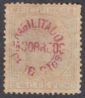Philippines, Scott #102, Mint No Gum, Alfonso XII Surcharged, Issued 1881 - Philipines