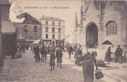 (30)   GUERANDE - La Place St Aubin   (état !!) - Guérande