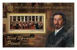 RUSSIE/RUSSIA/RUSSLAND/ROSJA 2019 MI.2694 (Bl.276),ZAG..2476** CP926 ,YVERT...Painting Of Ilya Repin MNH ** - Unused Stamps