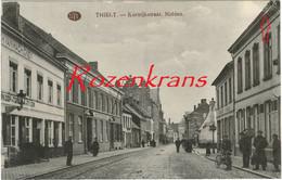 Tielt Thielt Kortrijkstraat  Midden Geanimeerd (Kreukje) - Tielt