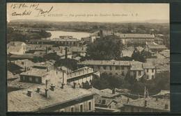 CPA CARTE POSTALE 84 VAUCLUSE AVIGNON VUE GENERALE CARTE AYANT VOYAGE - Avignon