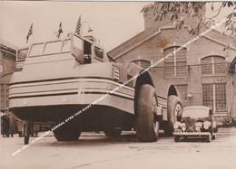 SNOW CRUISER PENGUIN1 ADMIRAL BYRD 1939 GIANT ANTARCTIC SNOW CAR CHICAGO CONSTRUCTION SITE SCHNEEKREUZER CROISIERE NEIGE - Andere