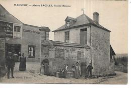 51 - MAGNEUX - Maison LAGILLE, Société Rémoise  (Belle Animation) - Autres Communes