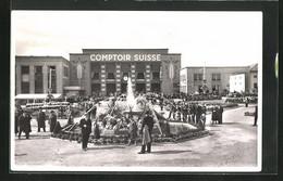 AK Lausanne, Ausstellung, Comptoir Suisse Mit Brunnen - Exhibitions