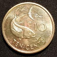 SEYCHELLES - 10 CENTS 1997 - KM 48.2 - ( Thon Albacore ) - Seychelles