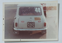 62424 Foto D'epoca 649 - Automobilismo Rally - Mini Minor - Cars