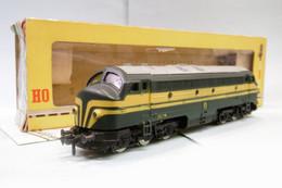 Fleischmann - Locomotive Diesel Série 202 016 SNCB Réf. 1385 BO HO 1/87 - Locomotieven
