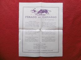 FERRADE EN CAMARGUE FERADO EN CAMARGO CROCODILE CLUB DE SAN GILE CHANSON EN OCCITAN - Non Classificati