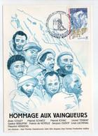 - Carte Postale CONQUÊTE DE L'ANNAPURNA 3.6.1950 - HOMMAGE AUX VAINQUEURS - - Escalade