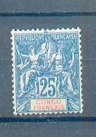Congo 191 - YT 44 * - Nuovi