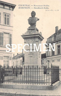Monument Robbe - Lagaert - Courtrai - Kortrijk - Kortrijk