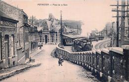 Belgique - Pepinster - Place De La Gare - Train - Pepinster