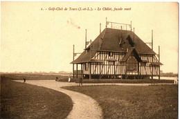 GOLF CLUB DE TOURS . 37 . LE CHALET ,COTE OUEST - Golf