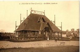 GOLF CLUB DE TOURS . 37 . LE CHALET , FACADE EST - Golf