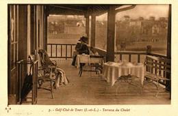 GOLF CLUB DE TOURS . 37 . LE CHALET , TERRASSE DU CHALET - Golf