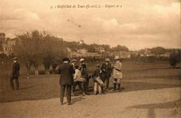 GOLF CLUB DE TOURS . 37 . LE CHALET , DEPART N° 1 - Golf
