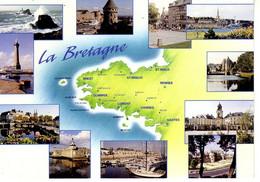 La Bretagne Pittoresque Expédiée De Port Louis : (Brest, Quimper, Lorient, Vannes, Nantes, St Brieuc, St Malo, Rennes... - Unclassified