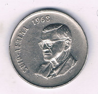 50 CENTS 1968  ZUID AFRICA /6436/ - South Africa