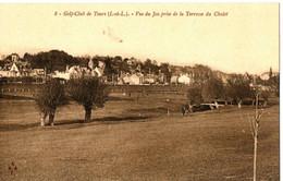 GOLF CLUB DE TOURS . 37 . VUE DU JEU PRISE DE LA TERRASSE - Golf
