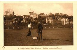 GOLF CLUB DE TOURS . 37 . DRIVING COMPETITION DAMES - Golf