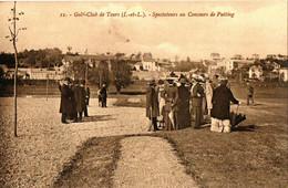 GOLF CLUB DE TOURS . 37 . SPECTATEURS AU CONCOURS DE PUTTING - Golf