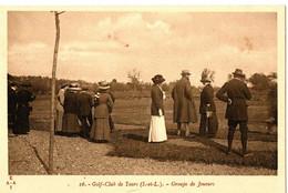 GOLF CLUB DE TOURS . 37 . GROUPE DE JOUEURS - Golf