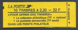 P-642: FRANCE: Lot Avec Carnet N°2376 C6Aa  (variété) - Standaardgebruik