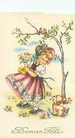 Carte   Illustration  - Enfants - Bonne Fête     C114 - Taferelen En Landschappen