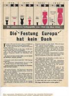 DR Flugblatt Propaganda England Bombenkrieg - Guerra 1939-45